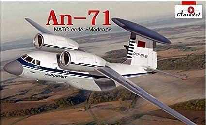 """Amazon.com: Antonov An-71 """"Madcap AWACS Soviética ..."""
