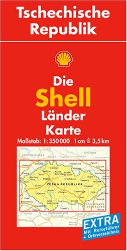 Tschechische Republik: 1:350000 (Shell Länderkarte)
