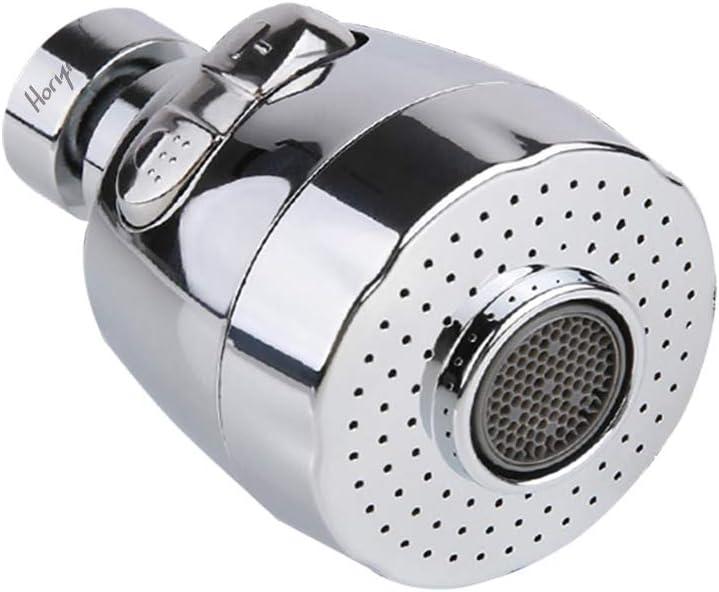 360 Degree Aerator Sink Mixer Kitchen Swivel Tap Faucet Nozzle Water Sprayer US