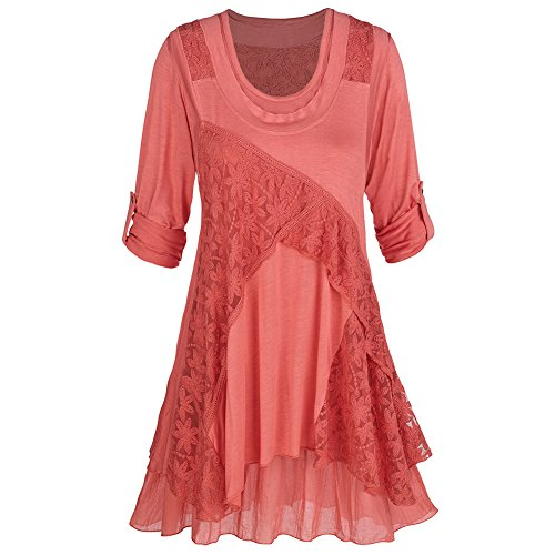 Layered Lace Top - 7