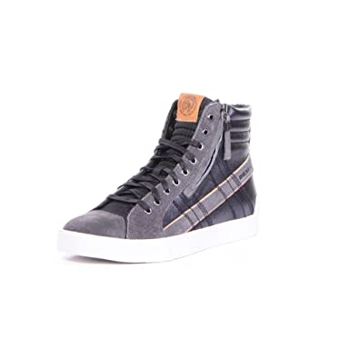 DIESEL - Baskets basses - Homme - Sneakers Montante D-String Plus Noire  pour homme f95709bffe7f