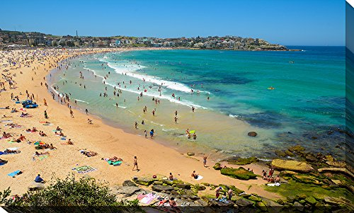 Picture Perfect International Bondi Beach, Nsw Giclee Print Canvas Wall - Nsw Bondi