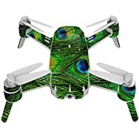 Skin For Yuneec Breeze 4K Drone – Peacock Feathers | MightySkins Protective, Durable, and Unique Vinyl Decal wrap cover | Easy To Apply, Remove, and Change Styles | Made in the USA