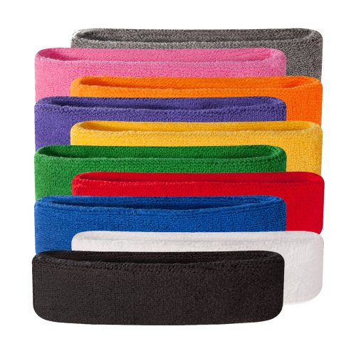 Suddora Kids Headband (A number of Colors Available)Athletic Cotton Terry Cloth Head Sweatband for Sports – DiZiSports Store