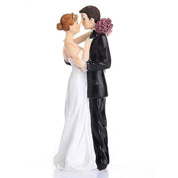 Hochzeitspaar Aus Hochwertigem Kunstharz Braut Und Brautigam
