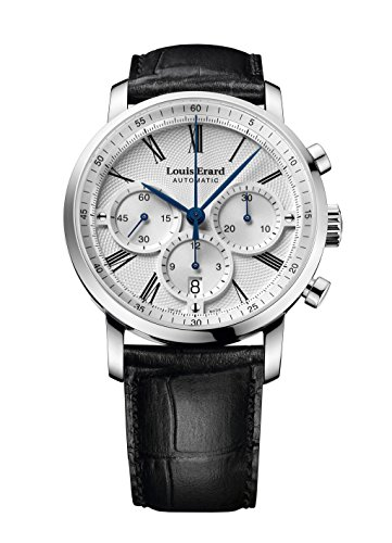 Louis Erard Excellence Collection Swiss Automatic Selfwinding Silver Dial Men's Watch 71231AA31.BDC51 …