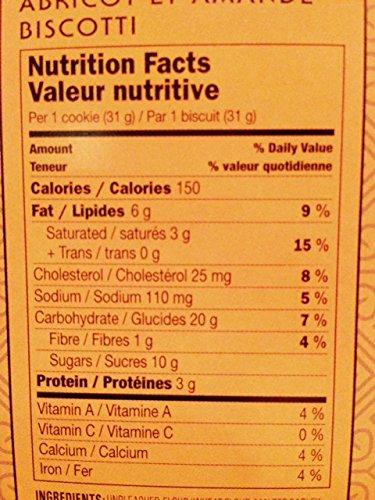 DiBella Gourmet Biscotti: Apricot Almond (Pack of 3) 6.6 oz Boxes