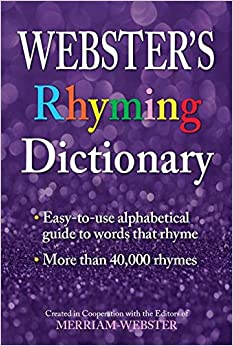 Book Webster's Rhyming Dictionary