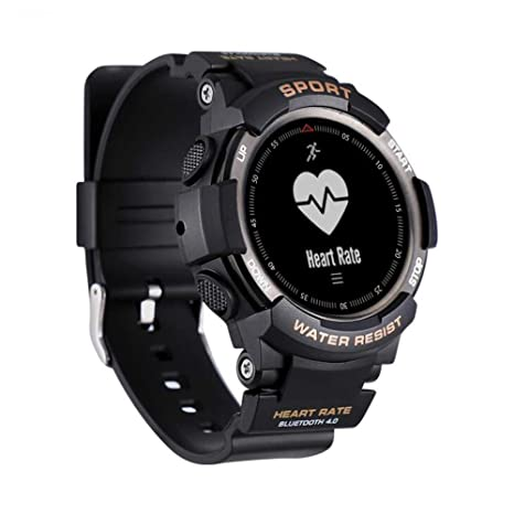 Amazon.com: F6 Smartwatch IP68 Waterproof Bluetooth 4.0 ...