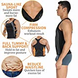 Sauna Sweat Vest Mens Abs Chest Firm Control