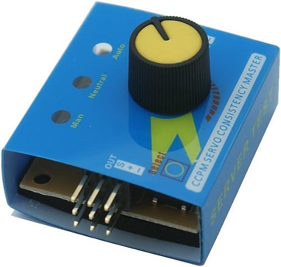Servotester 3-fach RC Tester analog 3 Funktionen Servo prüfen testen Versuch ECS