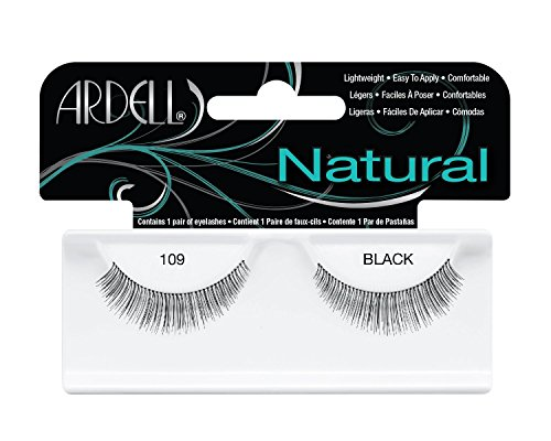 Ardell Fashion Lashes Pair Black- 109 Demi (Pack of 6 Pairs)
