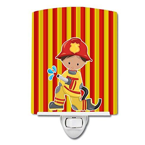 Caroline's Treasures Fireman Boy Ceramic Night Light, Multicolor, 6'' x 4'', BB6995CNL by Caroline's Treasures