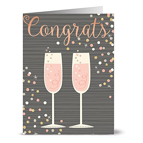 24 Note Cards Champagne Envelopes