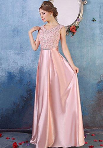 Vimans - Robe - Trapèze - Femme rose rose