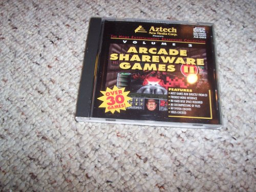 Arcade Shareware Games II Volume 2