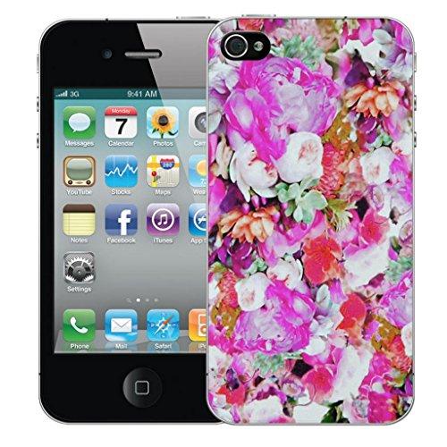 Mobile Case Mate iphone 5 Dur Coque couverture case cover Pare-chocs - floret Motif