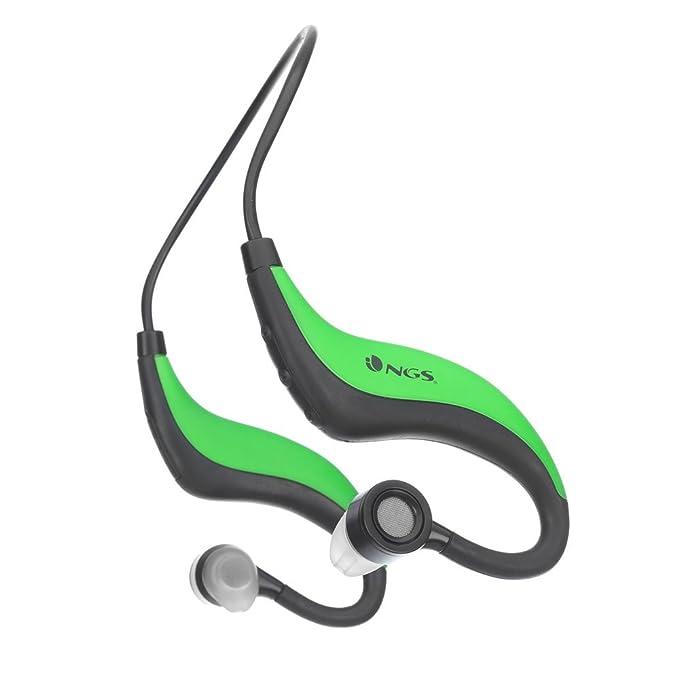 NGS Artica Runner - Auriculares deportivos de contorno de cuello ...