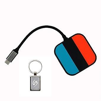 Gam3Gear Mayflash Adaptador de tipo C HDMI para Nintendo ...