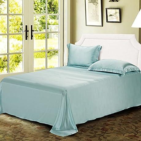Pure Silk Bed Linen Silk Double Wide Silk Sheets C 245x270cm 96x106inch