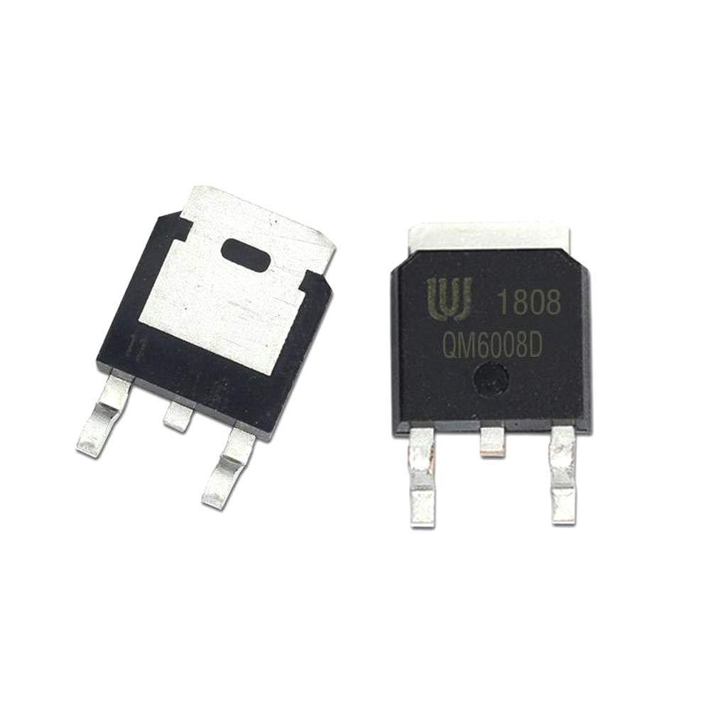 10Pcs//lot QM6008D TO-252 N Mosfet 60V 10A