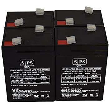 Panasonic LCR6V4P Sealed Lead Acid AGM This is an AJC Brand Replacement VRLA Battery