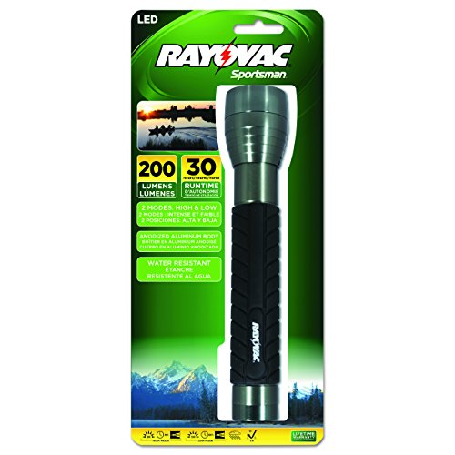 Rayovac Sportsman Lumen Flashlight SE4W3CA