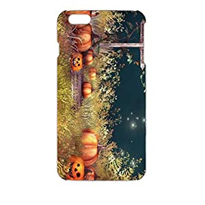 Beautiful Natural Scenery Design Halloween Pumpkin Creative Phone Case For Iphone 6 Plus ( 5.5 Inch )