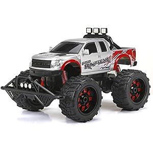 - 51n5KXw3MEL - 1:10 R/C Full-Function 9.6V Ford Raptor – Silver