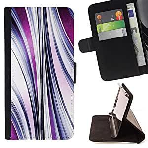 Jordan Colourful Shop - abstract purple flow For Apple Iphone 5C - Leather Case Absorci???¡¯???€????€??????????&fno