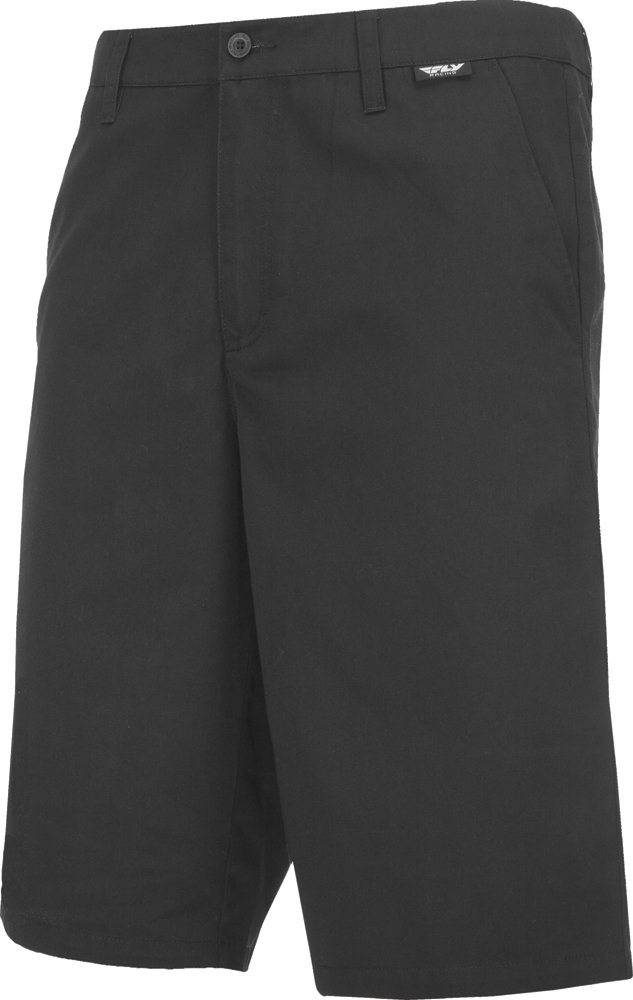 Fly Racing Unisex-Adult Stock Shorts (Black, Size 38)