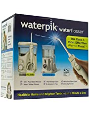 Waterpik Ultra Plus Water Flosser Nano Flosser Deluxe Traveler Case Tip Storage Case and 12 Accessory Tips Combo Pack
