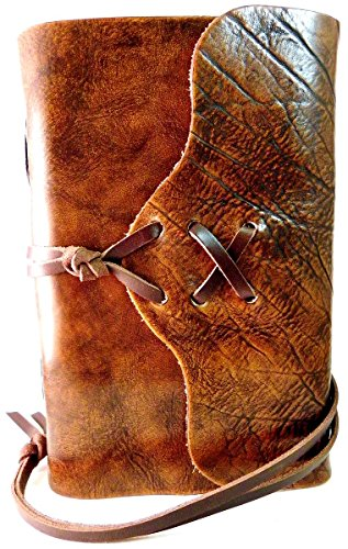 """The Nomad"" Distressed Leather Journal"