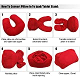 Convertible Travel Pillow/Bed Stand Holder for iPad