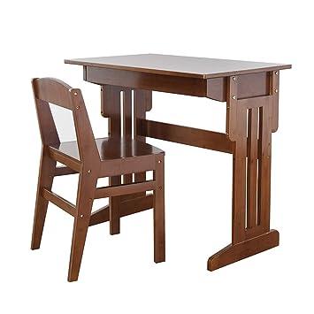 Table Detude Pour Enfants Ensemble Bureau Et Chaise Decole Primaire