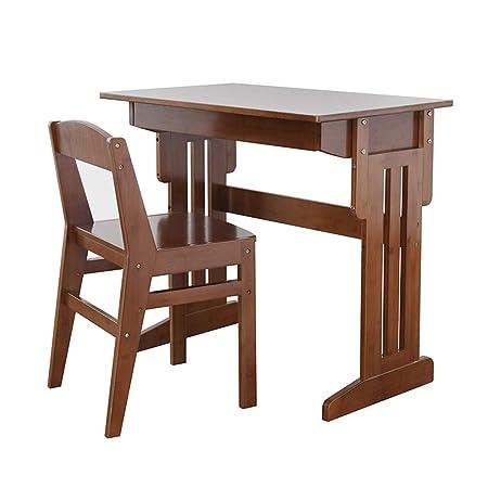 Mesa de Estudio para niños Escritorio y Juego de sillas Escritorio ...