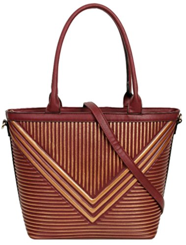 De Material Sintético Handbags Mujer Girly Para Red Bolso Asas n6ERf