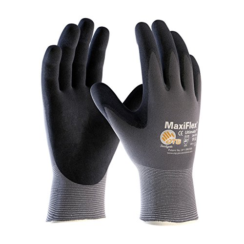 G-Tek TM MaxiFlex 34-874 Seamless Knit Nylon Gloves (XXXL) Full Chore Glove