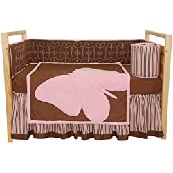 Tadpoles Crib Set, Butterfly Baby, Standard, 4 Piece