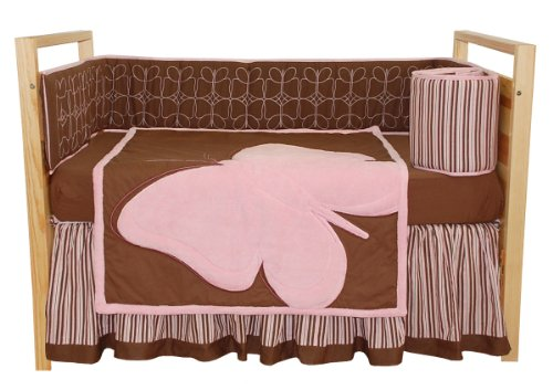 Tadpoles Crib Set, Butterfly Baby, Standard, 4 -