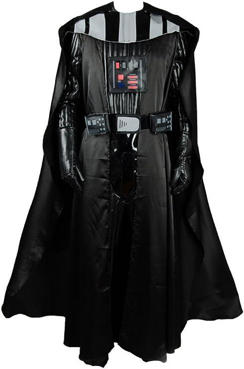 RedJade Darth Vader Outfit Suit Traje de Cosplay Disfraz Negro ...