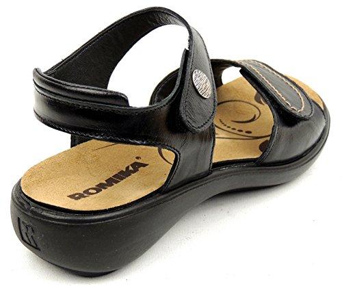 Romika - Sandalias de vestir de Piel para mujer negro