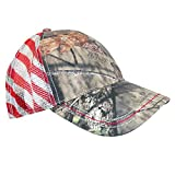 1 · CTM Camo Baseball Cap with Mesh American Flag Back 656f13461740