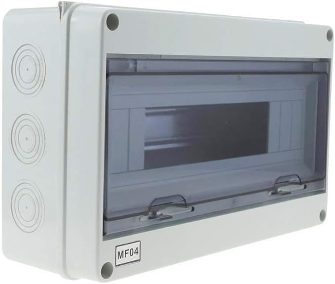 BeMatik - Caja de distribución eléctrica SPN 15M IP65 de ...