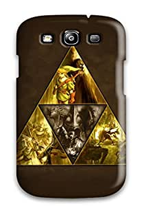 Durable Defender Case For Galaxy S3 Tpu Cover(zelda Video Game)