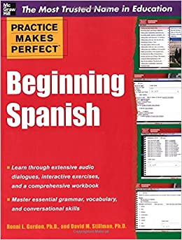 Practice Makes Perfect Beginning Spanish with CD-ROM (Practice Makes Perfect (McGraw-Hill))