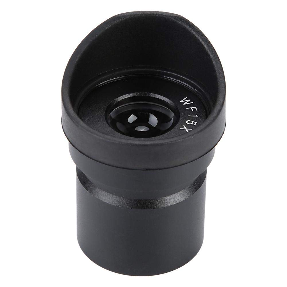 Microscope Eyepiece, WFY003b WF15X/15 Wide Angle Eyepiece for Stereoscopic Microscope Ocular Lens Mounting 30mm