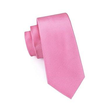 Corbatas De Seda Clásicas Sólidas De Color Rosa Oscuro Para ...
