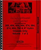 International Harvester 464 Tractor Service Manual (1973-1978) (Chassis)