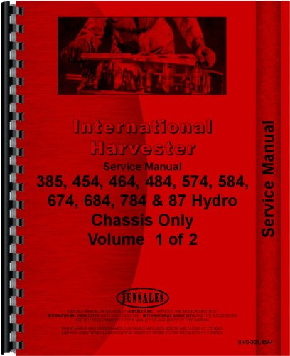 International Harvester 464 Tractor Service Manual (1973-1978) (Chassis) by International Harvester
